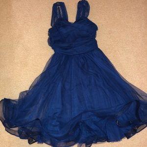 Beautiful blue dance costume
